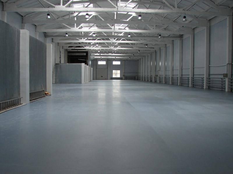 Новые бетонные полы
