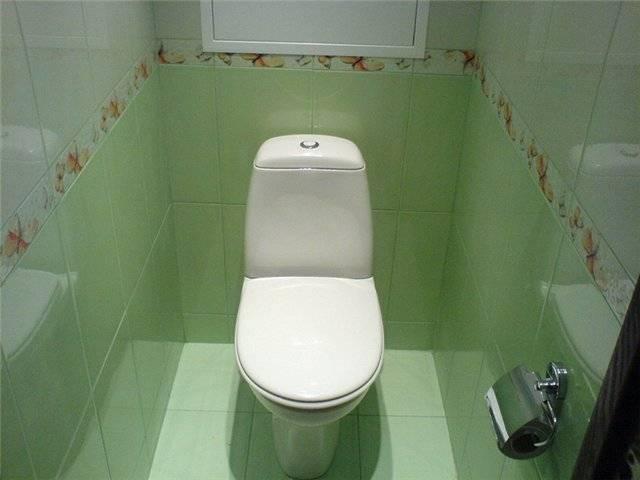 Оригинальная плитка в туалете