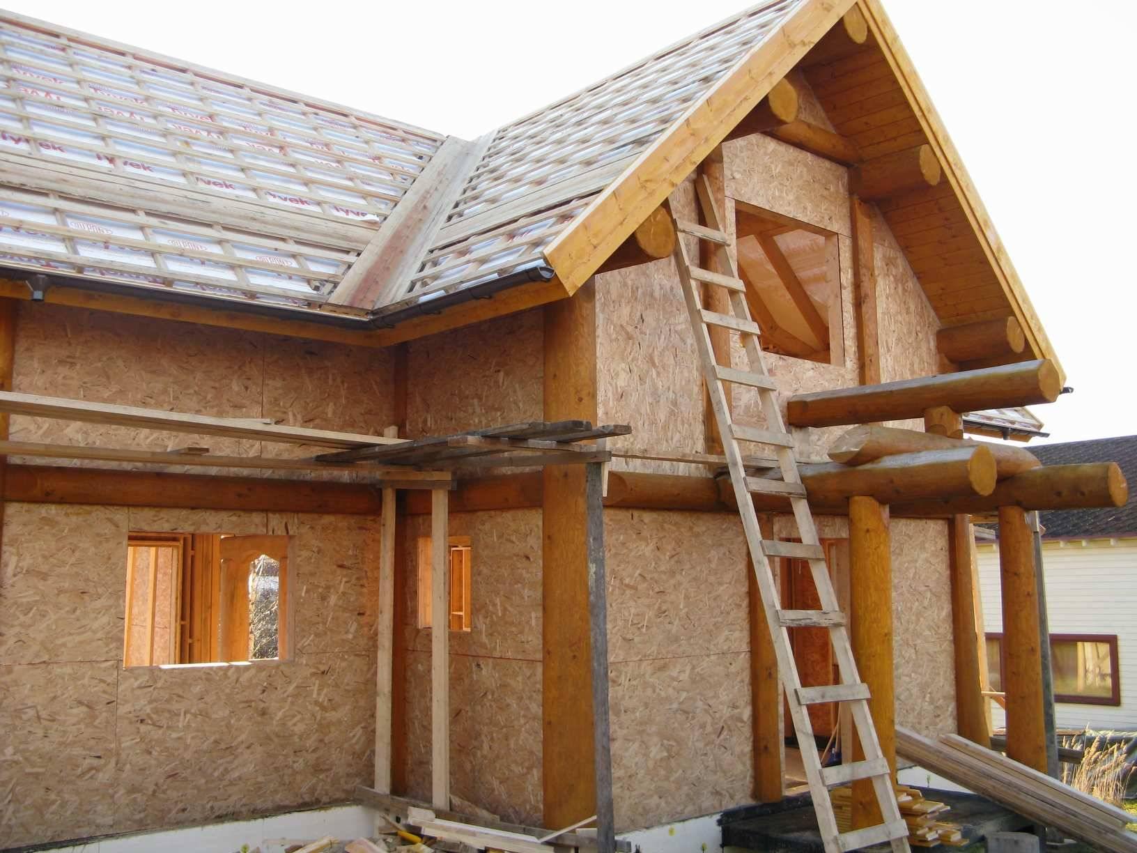 ОСБ плиты в строительстве дома