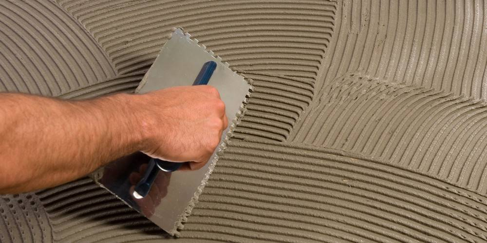 Клей предназначенный для плитки