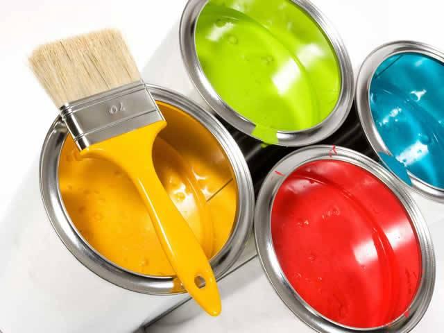 Различные виды краски
