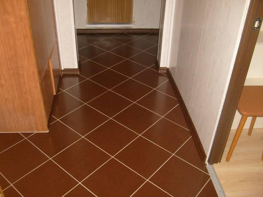 Плитка коричневого цвета