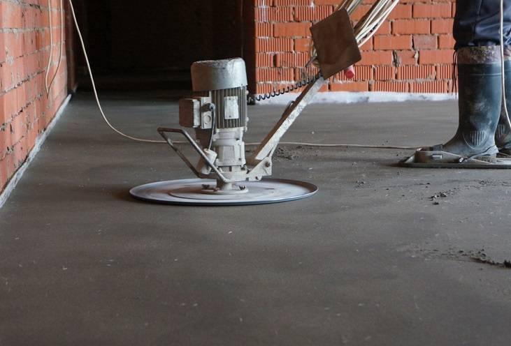 Шлифуем поверхность бетона