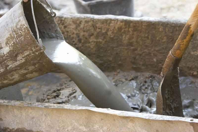 Рассчитываем сколько нужно нам бетона
