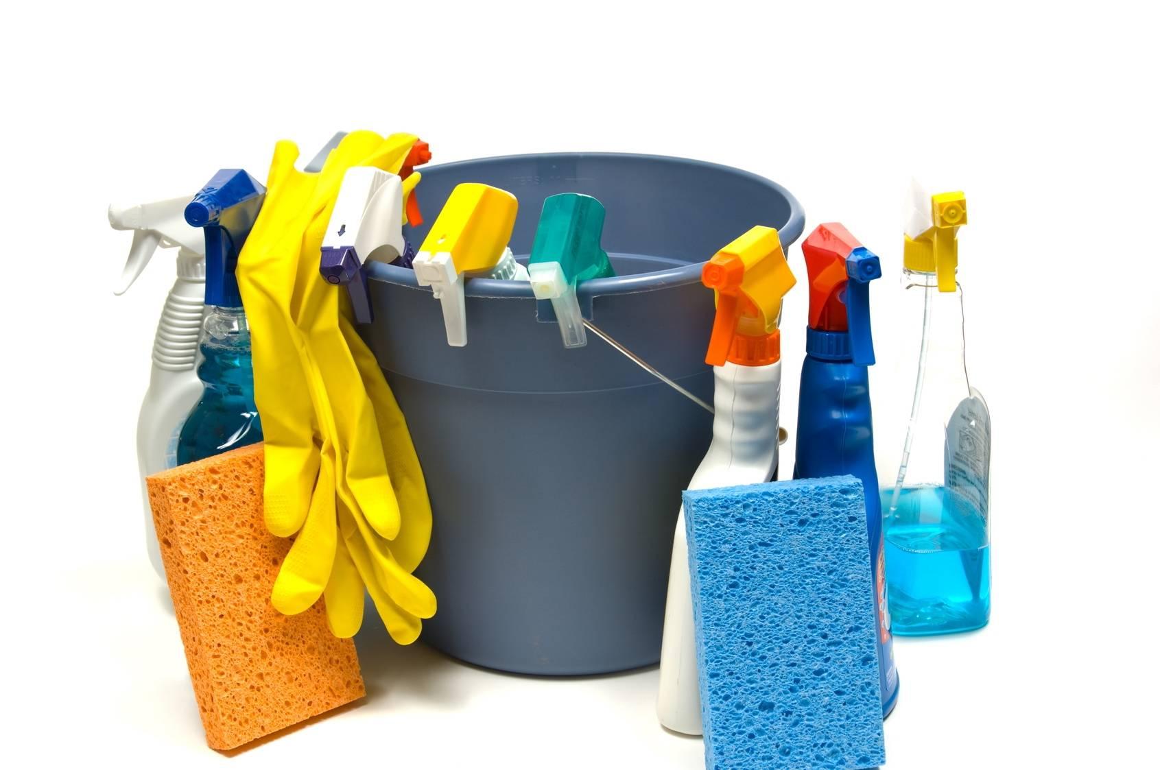 Различные моющие средства