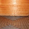 устройство теплого пола в бане